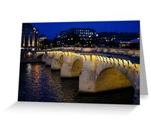 Pont Neuf Bridge - Paris, France Greeting Card