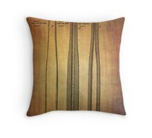 Baseball Bat From 1888 Throw Pillow