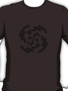Mandala 10 Back In Black T-Shirt