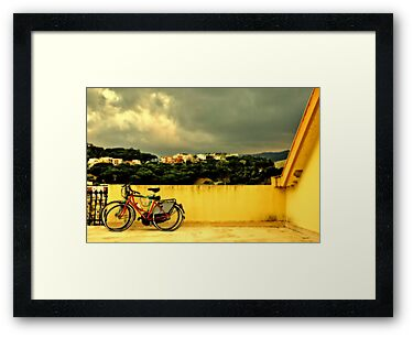 Bicycles n.1 by Silvia Ganora