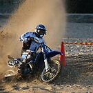 Beach racing, Isle of Man  by Garrington