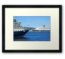 The Royal Rendezvous Framed Print