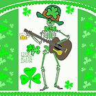 Leprechaun Skeleton by kabsannie