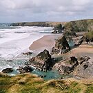Bedruthen Steps Beach by Mike Paget