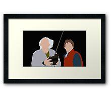 Great Scott Framed Print