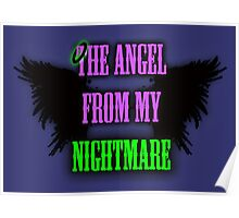 The Angel from my Nightmare Poster