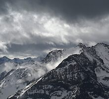 Alps & Clouds by JackPloeg