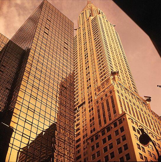 Chrysler & Hyatt Buildings by micpowell