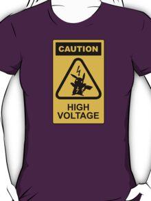 Pikachu high voltage pokemon T-Shirt
