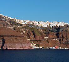 Fira, Santorini, Greece by Tom Gomez
