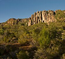 The Organ Pipes, Mt Arapiles by Jacob Simkin