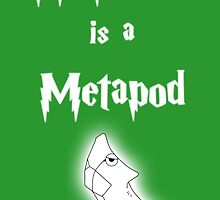 My Patronus is a Metapod by OuroborosEnt