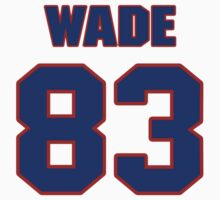 National football player Charlie Wade jersey 83 by imsport
