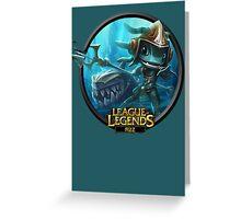 League of Legends - Fizz Greeting Card