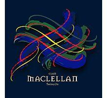 MacLellan Tartan Twist Photographic Print