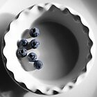 Blueberries in a Bowl by Eileen Ringwald