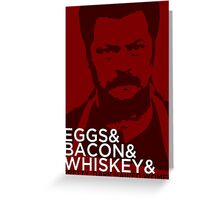 Swanson And Greeting Card