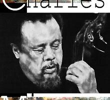 Charles Mingus (graphite drawing) by Kozmikmunki