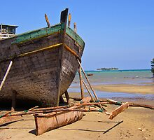 Zanzibar boat making by caymanlogic