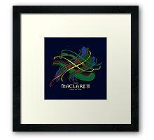 MacLaren Tartan Twist Framed Print