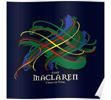 MacLaren Tartan Twist Poster