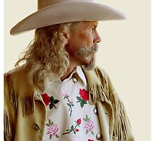 ALAN BAKER - AS BUFFALO BILL CODY by Leigh Karchner