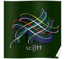 Scott Tartan Twist Poster