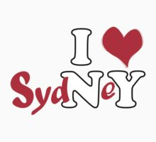 a t-shirt for Sydney lovers by johnkratovil