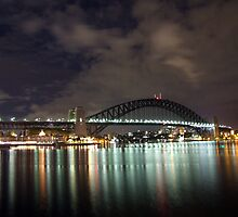 Sydney Harbour by DarkSkies