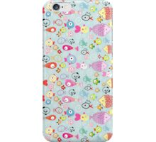 pattern of colorful fish iPhone Case/Skin
