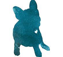 French bulldog figurine artwork for sale by Joanna Szmerdt