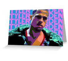 Tyler Durden Greeting Card