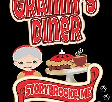 Granny's Diner by AllMadDesigns
