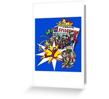 The Amazing Spiderman!! Greeting Card