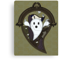 Ooh the Ghost Canvas Print