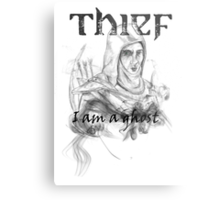Thief, i am a ghost Metal Print