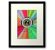 Music of Life Framed Print