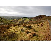 The rolling hills of Bantry Photographic Print