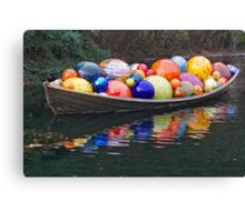 Christmas Float Canvas Print