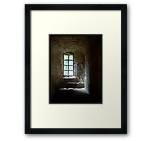 The Lord's Reading Place Framed Print