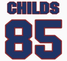 National football player Greg Childs jersey 85 by imsport