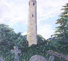 Irish Round Tower by jkarlin