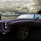 76 Chevy Monte Carlo in the Rain by ChasSinklier