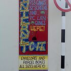 cyberzone sign 2 by imajicabizz