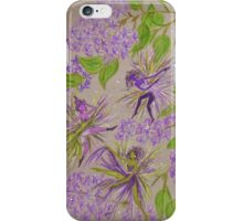 french lilacs iPhone Case/Skin