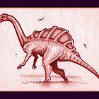 Great Red Dragon IV by Sean Phelan