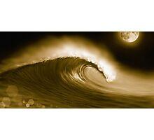 Moonwave I Photographic Print