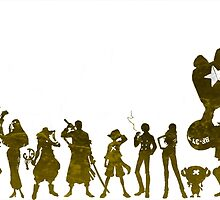 one piece crew, go to the new world! by Kick