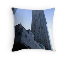 High Floor Building  Throw Pillow
