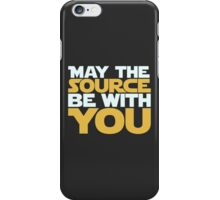 May The Source Be With You iPhone Case/Skin